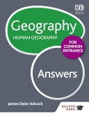 Geography for Common Entrance  Human Geography Answers