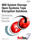 Ibm System Storage Open Systems Tape Encryption Solutions