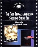 Paul Thomas Anderson Shooting Script Set