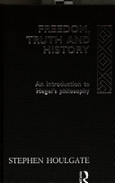 Freedom Truth And History book
