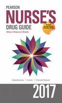Pearson Nurse s Drug Guide 2017