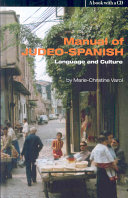 Manual of Judeo-Spanish Language and Culture
