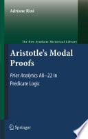 Aristotle s Modal Proofs