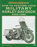 How to Restore Your Military Harley Davidson  1932 1952