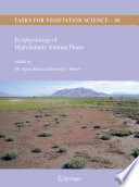 Ecophysiology of High Salinity Tolerant Plants Tolerance To Salt In Many Countries Halophytes Have