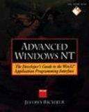 Advanced Windows Nt