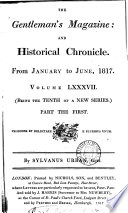 THE Gentleman s Magazine  AND Historical Chronicle