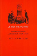 A Book of Booksellers