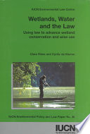 Wetlands  Water  and the Law