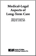 Medical Legal Aspects Of Long Term Care
