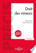 Droit Des Mineurs 3e Ed