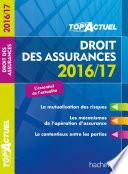 Top Actuel Droit Des Assurances 2016 2017