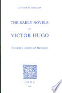 The Early Novels of Victor Hugo
