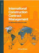 International construction contract management