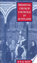 Medieval Church Councils in Scotland