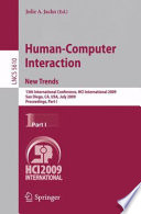 Human Computer Interaction  New Trends