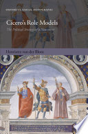 Cicero's Role Models By The Roman Orator And Statesman Cicero