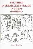 The Third Intermediate Period in Egypt, 1100-650 B.C.