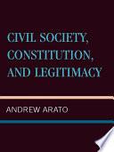 Civil Society  Constitution  and Legitimacy