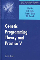 """""""Genetic Programming Theory and Practice V"""" Cover"""