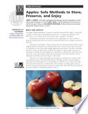 Apples  Safe Methods to Store  Preserve  and Enjoy