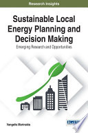 Sustainable Local Energy Planning And Decision Making Emerging Research And Opportunities