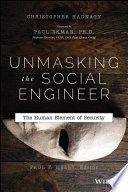 Unmasking the Social Engineer Book PDF