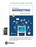 Principles of Marketing  Student Value Edition
