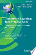 Tomorrow s Learning  Involving Everyone  Learning with and about Technologies and Computing