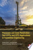 Piezocone and Cone Penetration Test  CPTu and CPT  Applications in Foundation Engineering Book PDF