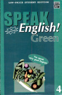 Speak English  Green 4 With Audiocassette