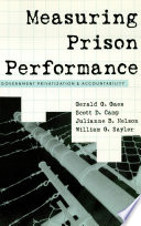 Measuring Prison Performance