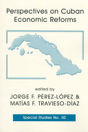 Perspectives On Cuban Economic Reforms book