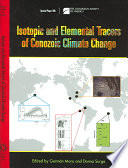 Isotopic and Elemental Tracers of Cenozoic Climate Change