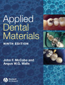 Applied Dental Materials : the practice of dentistry. it is aimed primarily...