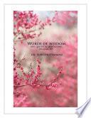 Words of Wisdom (Volume 49)