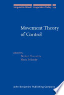 Movement Theory of Control