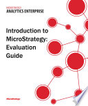 Evaluation Guide  Windows  for MicroStrategy 9 5