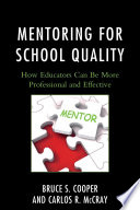 Mentoring for School Quality
