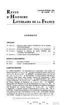Histoire comparée des littératures francophones