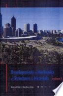 Developments In Mechanics Of Structures Materials