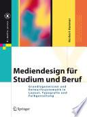 Mediendesign f  r Studium und Beruf