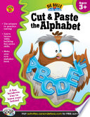 Cut   Paste the Alphabet  Ages 3   5