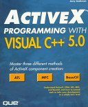 ActiveX Programming with Visual C   5