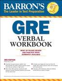 Barron s GRE Verbal Workbook  3rd Edition