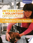 internship volunteer opportunities for people who love animals