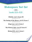 Shakespeare Text Set Levels 5 0 5 5