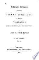 Anthologia Germanica