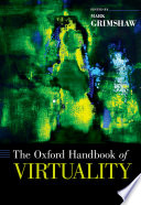 The Oxford Handbook of Virtuality Book PDF