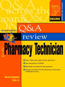 Prentice Hall Health Question and Answer Review for the Pharmacy Technician